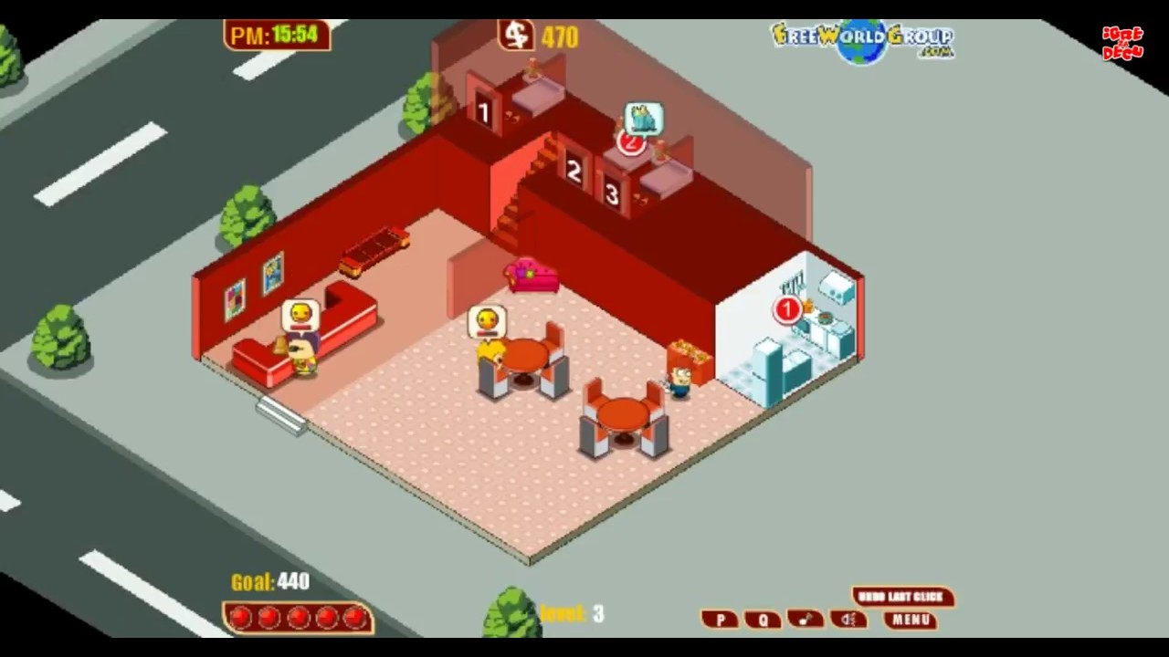 bed and breakfast free online game