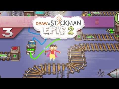 Draw a Stickman EPIC 2 || 3 || Electrical Fun