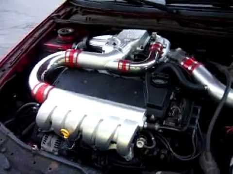 VR6 supercharged Eaton M90 2nd set up - YouTube