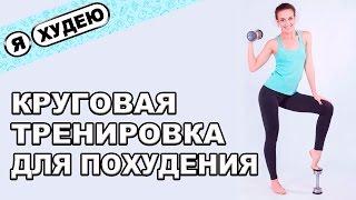 Круговая тренировка. Жиросжигающая круговая тренировка для похудения II Я худею