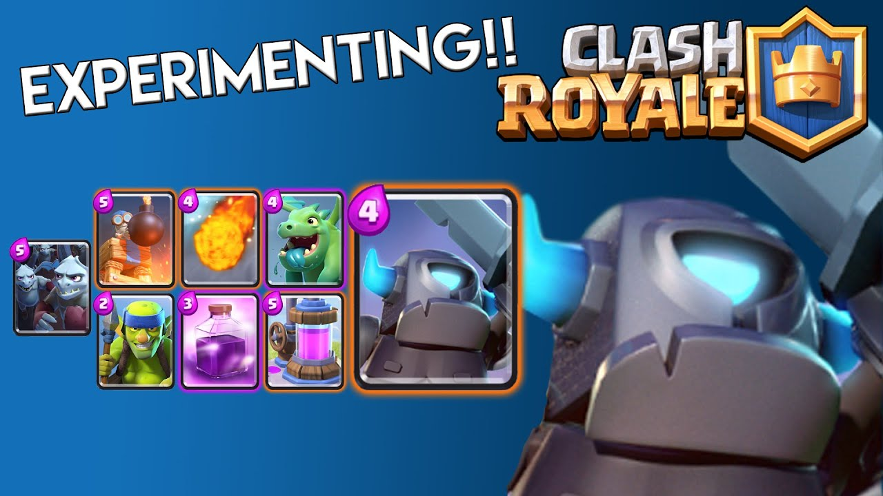 Experimenting!! Clash Royale: Battle Decks Ep 16 - Rage + Mini Pekka ...