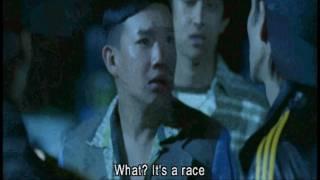 [Initial D] Final Battle: (AE86 Takumi) Vs (FC3S Ryousuke) Vs (E3 Kyouichi) Part 1 thumbnail