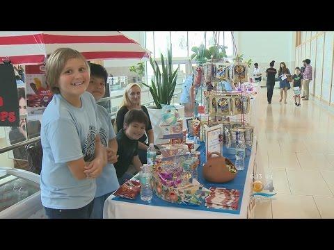 Dadeland Mall Holds Children's Business Fair