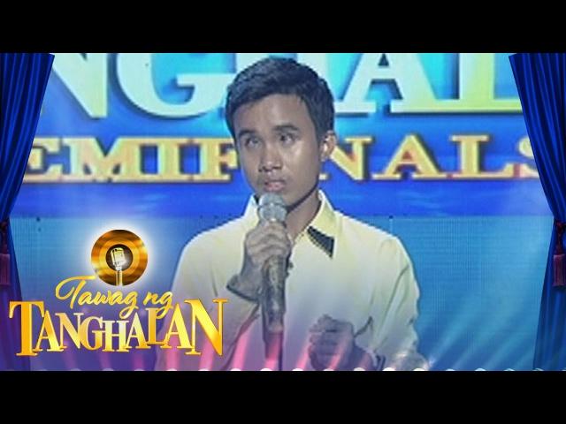 Tawag ng Tanghalan: Carlmalone Montecido | Pagsubok (Round 2 Semifinals)