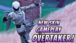 FORTNITE - Overtaker New Skin Gameplay!