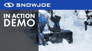 iON18SB - Snow Joe 40-Volt Cordless, Battery-Powered Snow Blower - Live Demo