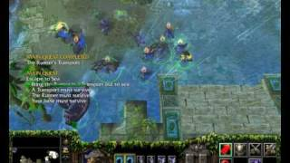 Warcraft 3 TFT Speedrun Elf 4 - Hard