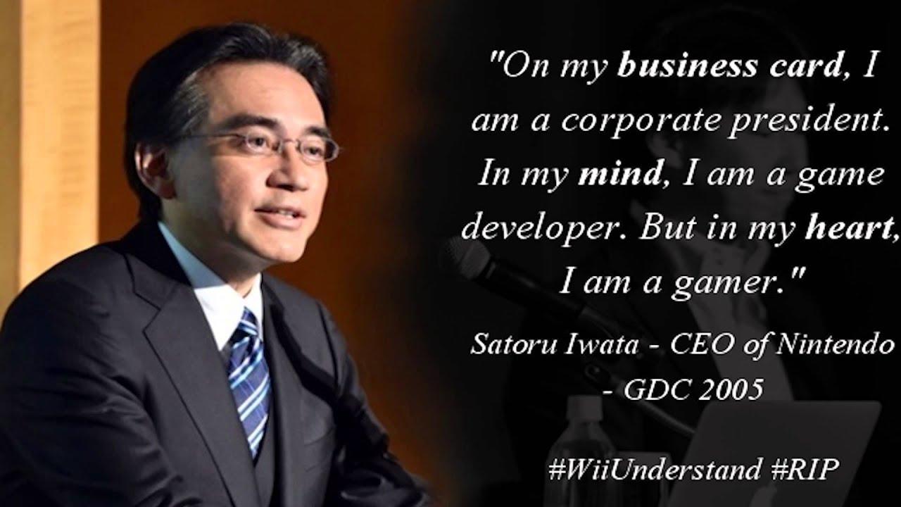 Nintendo Präsident Satoru Iwata ist tot - YouTube