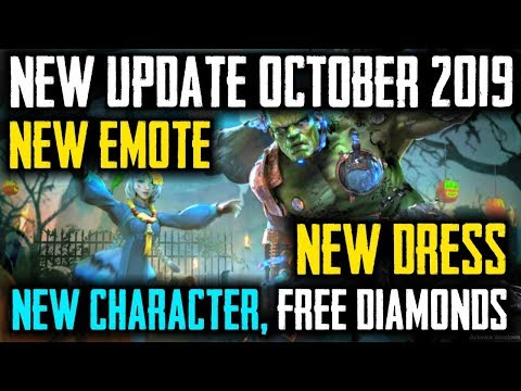 Free Fire October New Update Coming Soon 2019 - Garena Free Fire- Total Gaming