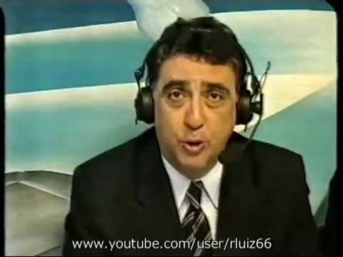 TV Globo   França 3 x 0 Brasil   Intervalo   Parte 1   1998