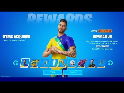How to Unlock Neymar Jr Skin in Fortnite (All Neymar Jr Challenges Reward)