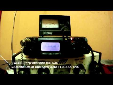 9W2SBD_qrp wkd with EC1AJL