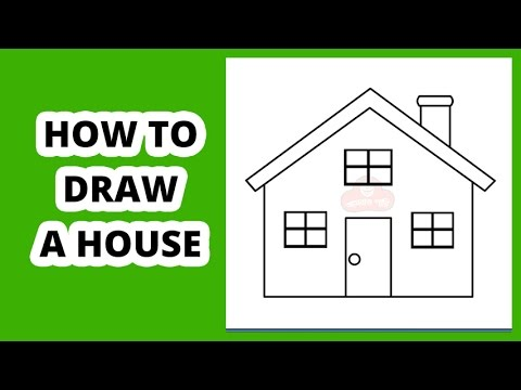 How to draw a house step by step for beginners youtube for How to make a house step by step