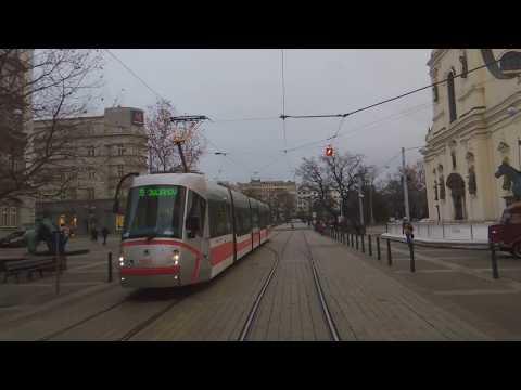 Tram city Brno - Z Moraváku na Moravák