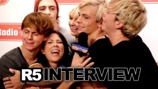 "R5 Talk ""Pass Me By"" Inspiration, Twerking Behind One Direction & More at Radio Disney"