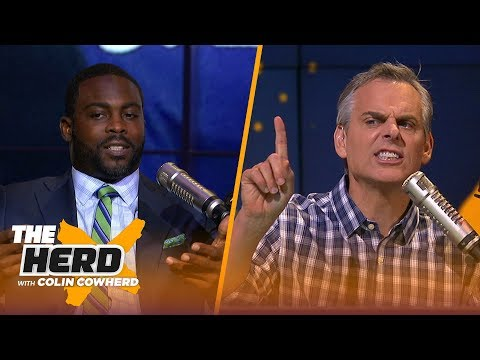 Michael Vick discusses Michael Thomas' celebration and Drew Brees' excellence   NFL   THE HERD