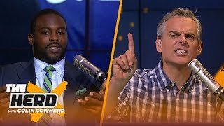 Michael Vick discusses Michael Thomas' celebration and Drew Brees' excellence | NFL | THE HERD