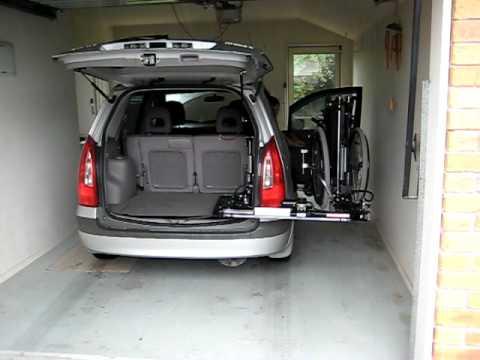 Abiloader Wheelchair Lifter In Mazda Premacy Youtube