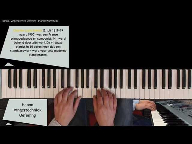 Pianoles Hanon Piano Vingeroefeningen Deel 1 Tips voor Sterke Vingers