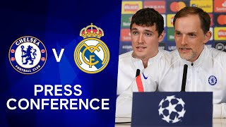 Thomas Tuchel & Andreas Christensen Press Conference: Chelsea v Real Madrid | Champions League
