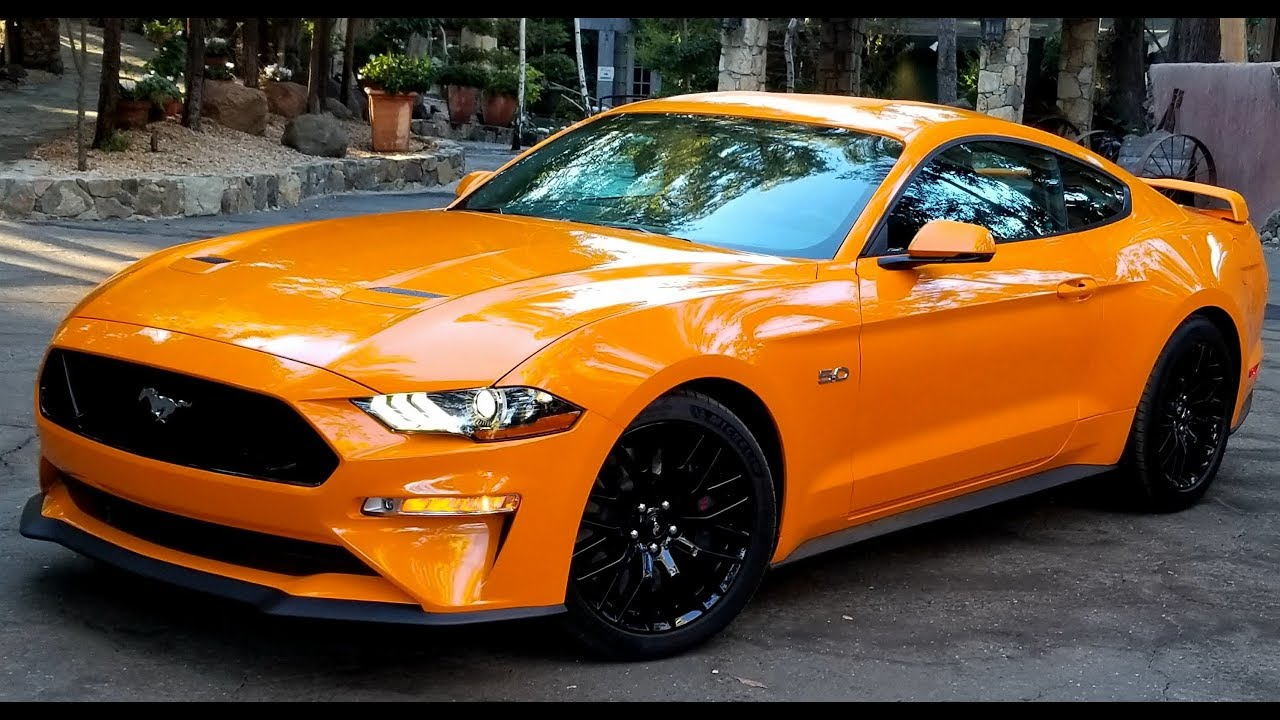 2018 ford mustang orange fury. Black Bedroom Furniture Sets. Home Design Ideas