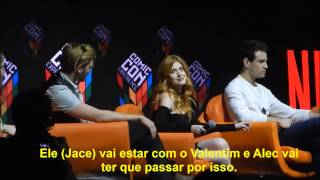 Shadowhunters Cast in Comic Con, Brazil - 04.12.16 - Part 1/3 (Legendado/ PT - BR)