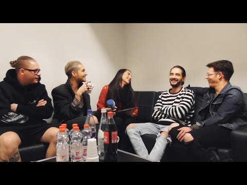 Tokio Hotel Backstage 2017 - VERY FUNNY Interview Part 1