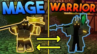 OPPOSITE ARMOR SET CHALLENGE IN DUNGEON QUEST! (ROBLOX)