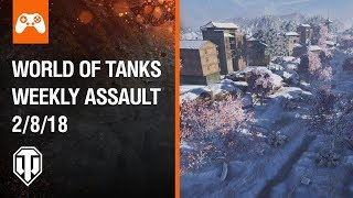 Console: World of Tanks Weekly Assault #38