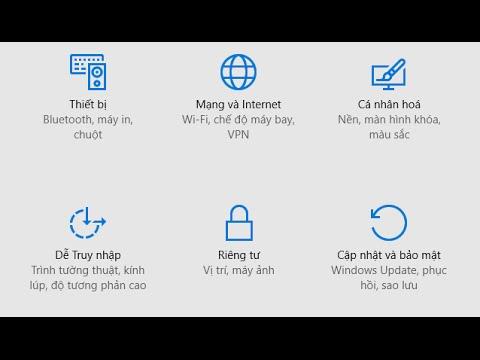 Thay đổi Ngôn Ngữ Trong Windows 10