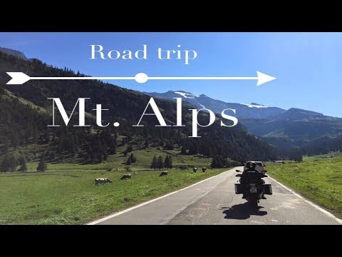 Motorcycle tour in The Alps, Germany, Austria, Switzerland & Italy 1600KM