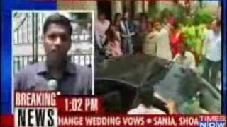 Sania Mirza weds Shoaib Malik-Celebs- By Tahir