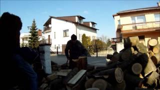 test siekiery do kucia drewna fiskars x25