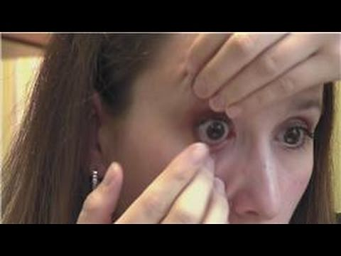 Contact Lens Basics : How to Take Out Contact Lenses Without Scraping Your Eyes
