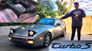 "A walk around our rare 1988 ""Turbo S"" (1 of 381)"
