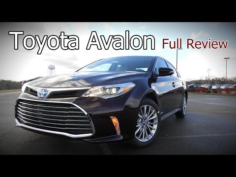 2017 Toyota Avalon: Full Review | XLE, Plus, Premium, Touring, Limited & Hybrid