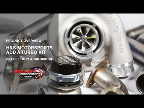 H&S Motorsports ECODiesel Add A Turbo Kit Overview