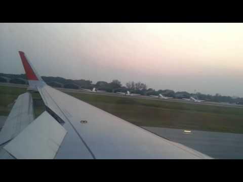 Landing @ Phitsanulok airport.