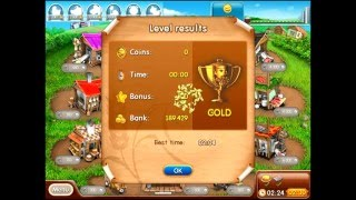 Farm frenzy 2 only GOLD (level 52) Product street 7 Веселая ферма 2 Фабрикатная 7 (уровень 52)