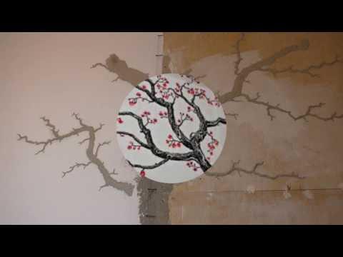 Монтаж лепнины из полиуретана. Видео-урок
