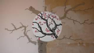 видео Дерево на стене своими руками