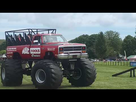 Monster Truck At Driffield Land Rover Show 2019