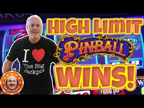 💰HIGH LIMIT 3 REEL ACTION! 💰Pinball + Double Gold Wins! - The Big Jackpot - 동영상
