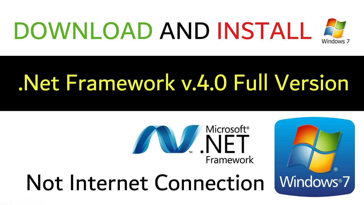 Download and Install .Net Framework v.220.20 Full install For Windows 20 Not  Internet Connection