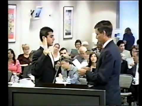 Gill, 9-9-04 Ricky Gill California Department of Education Swearing In