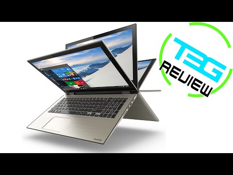 Toshiba P55W-C5204 2-in-1 Laptop Review