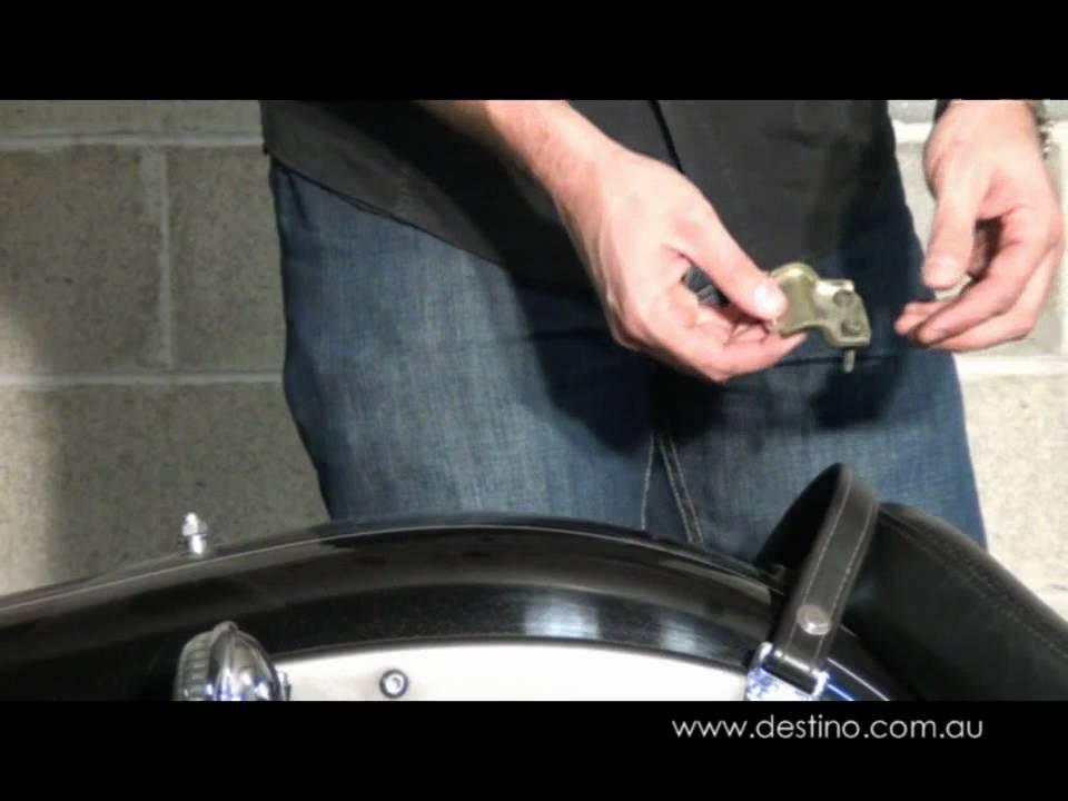 Yamaha V Star Seat Removal