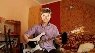 "Dexter Morgan Teaches Bass (""Dexter"" Main Theme Slap improvisation)"