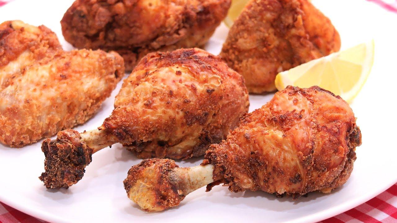 Pollo Frito Receta Fácil Y Deliciosa Youtube