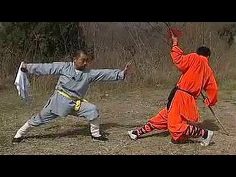 Shaolin kung fu 5 tigers kill herd of sheep saber, some combat methods
